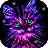 Neon Animals Wallpaper Moving Backgrounds icon