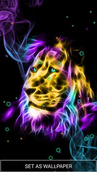 Neon Animals Wallpaper Moving Backgrounds screenshot 1