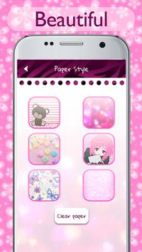 Pink Diary with Lock Password for Girls screenshot 4