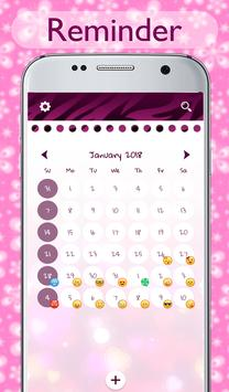 Pink Diary with Lock Password for Girls screenshot 7