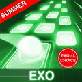 EXO Hop: Obsession KPOP Music Rush Dancing Tiles!