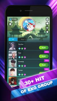 EXO Hop: Obsession KPOP Music Rush Dancing Tiles! poster