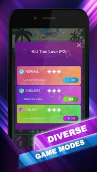 EXO Hop: Obsession KPOP Music Rush Dancing Tiles! screenshot 7