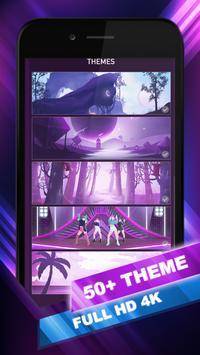 EXO Hop: Obsession KPOP Music Rush Dancing Tiles! screenshot 5