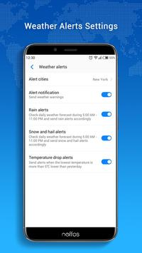 Neffos Weather screenshot 4