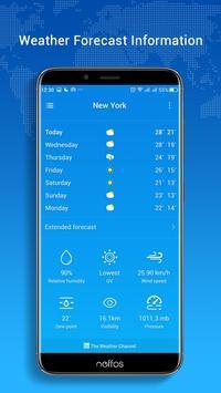 Neffos Weather screenshot 1