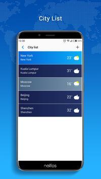 Neffos Weather screenshot 2