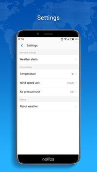 Neffos Weather screenshot 3