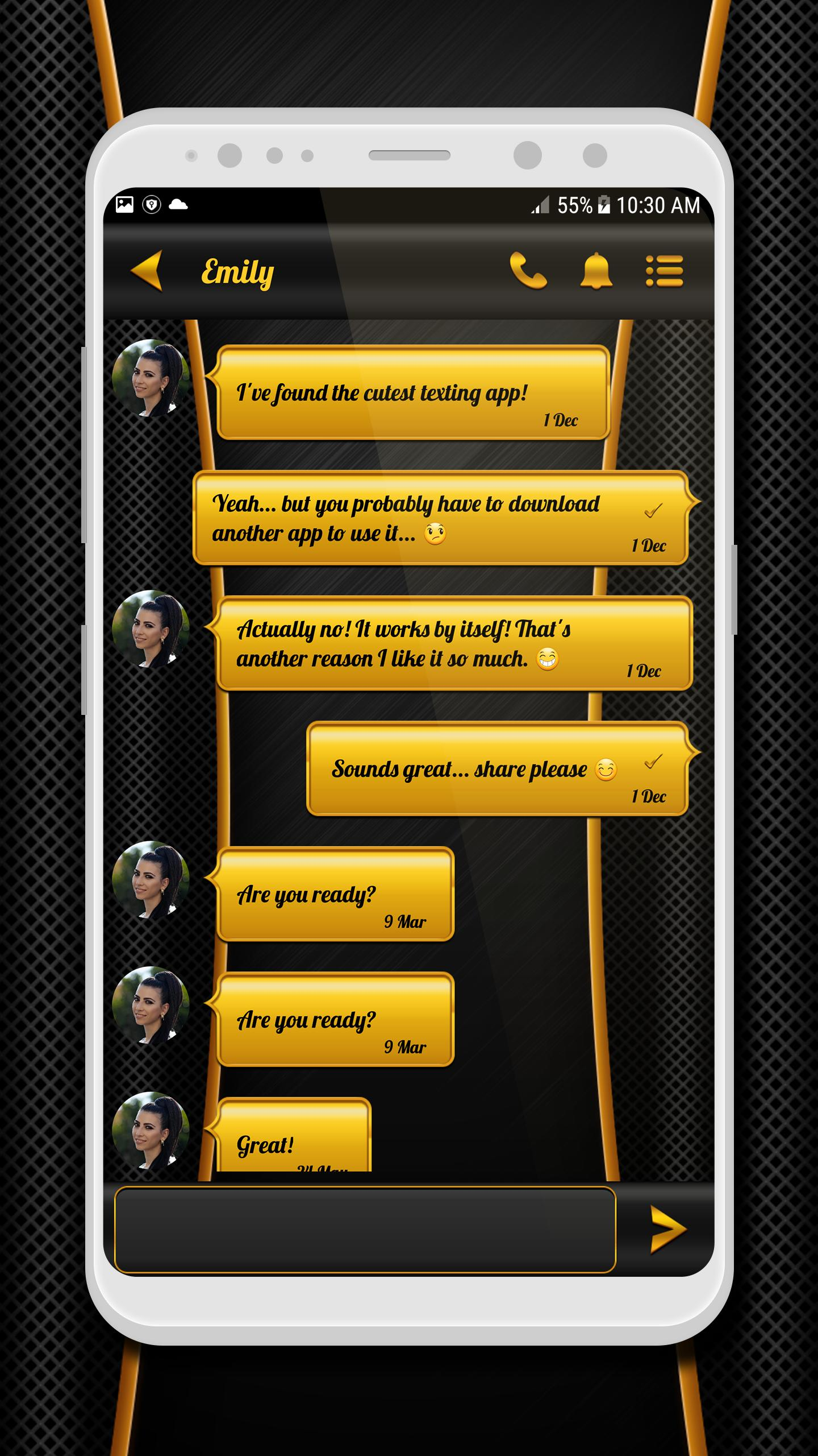 Black Gold SMS for Android - APK Download