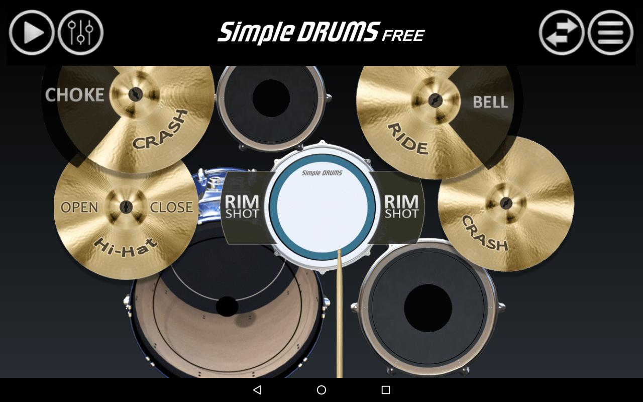 simple drums bater a for android apk download. Black Bedroom Furniture Sets. Home Design Ideas