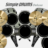 Game Music android Simple Drums Deluxe - Drum set new 2017 hot