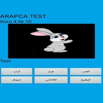 Arabic Quiz poster