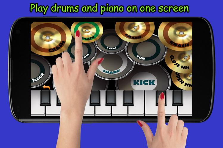 Blue Drum - Piano for Android - APK Download