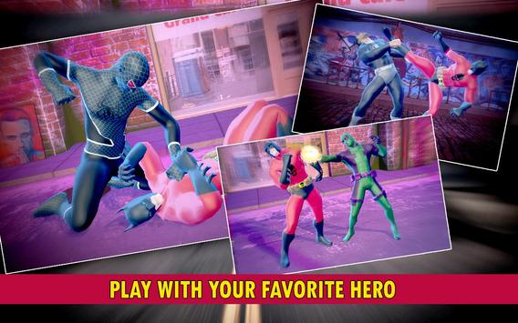 Grand Super Power heroes  : Ultimate Fighting Game скриншот 3