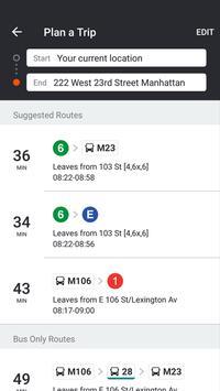 ムービット(Moovit):リアルタイムの交通時刻プランナー スクリーンショット 6