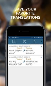 Tagalog English Translator screenshot 4
