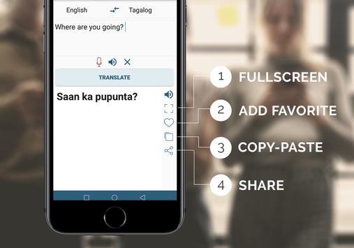 Tagalog English Translator screenshot 5
