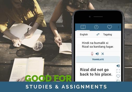Tagalog English Translator screenshot 2