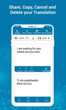 Multi Language Translator - Voice Translator App screenshot 20