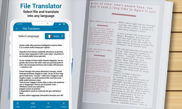 Multi Language Translator - Voice Translator App screenshot 14