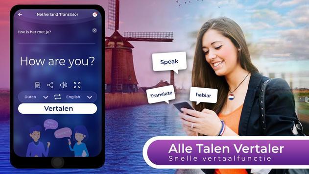 Translator App Gratis - Alle talen stem Vertalen-poster