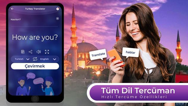 Dil Tercüman Uygulaması - Tüm Dilleri Çevir gönderen