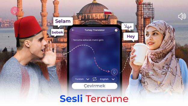Dil Tercüman Uygulaması - Tüm Dilleri Çevir Ekran Görüntüsü 17