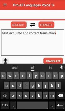 Voice Translator All Languages Speak and Translate screenshot 2