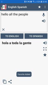 English Spanish penulis hantaran