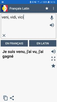 Traducteur Français Latin poster