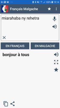 Traducteur Français Malgache poster
