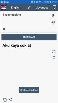 English Javanese Translator poster