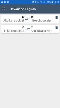 English Javanese Translator screenshot 2