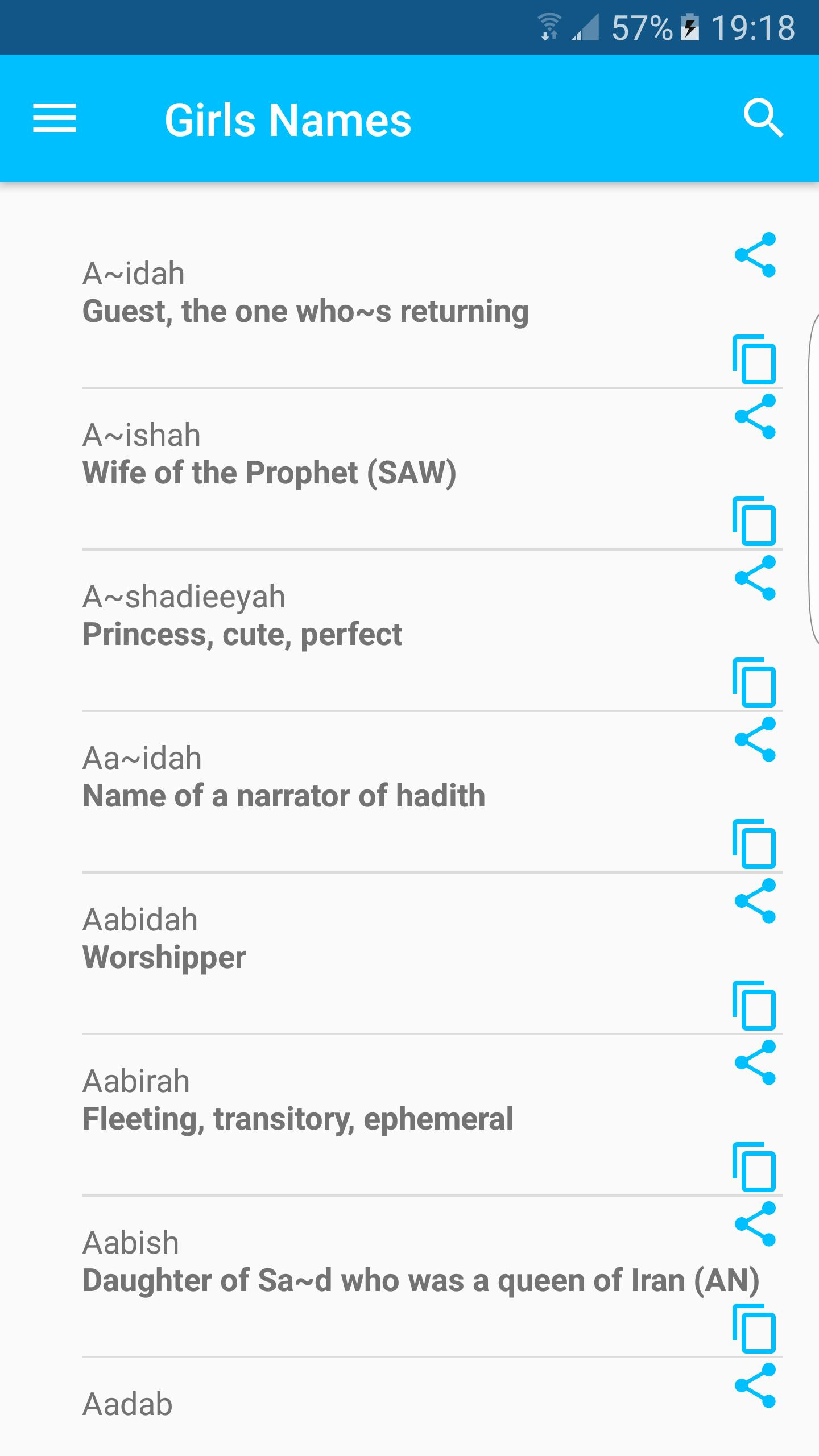 Muslim Names With Meaning For Android Apk Download