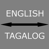 English - Tagalog Translator icon
