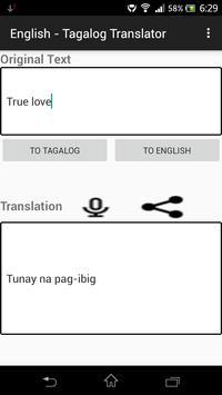 English - Tagalog Translator poster