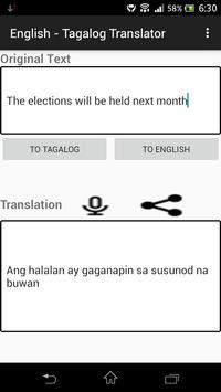 English - Tagalog Translator screenshot 9