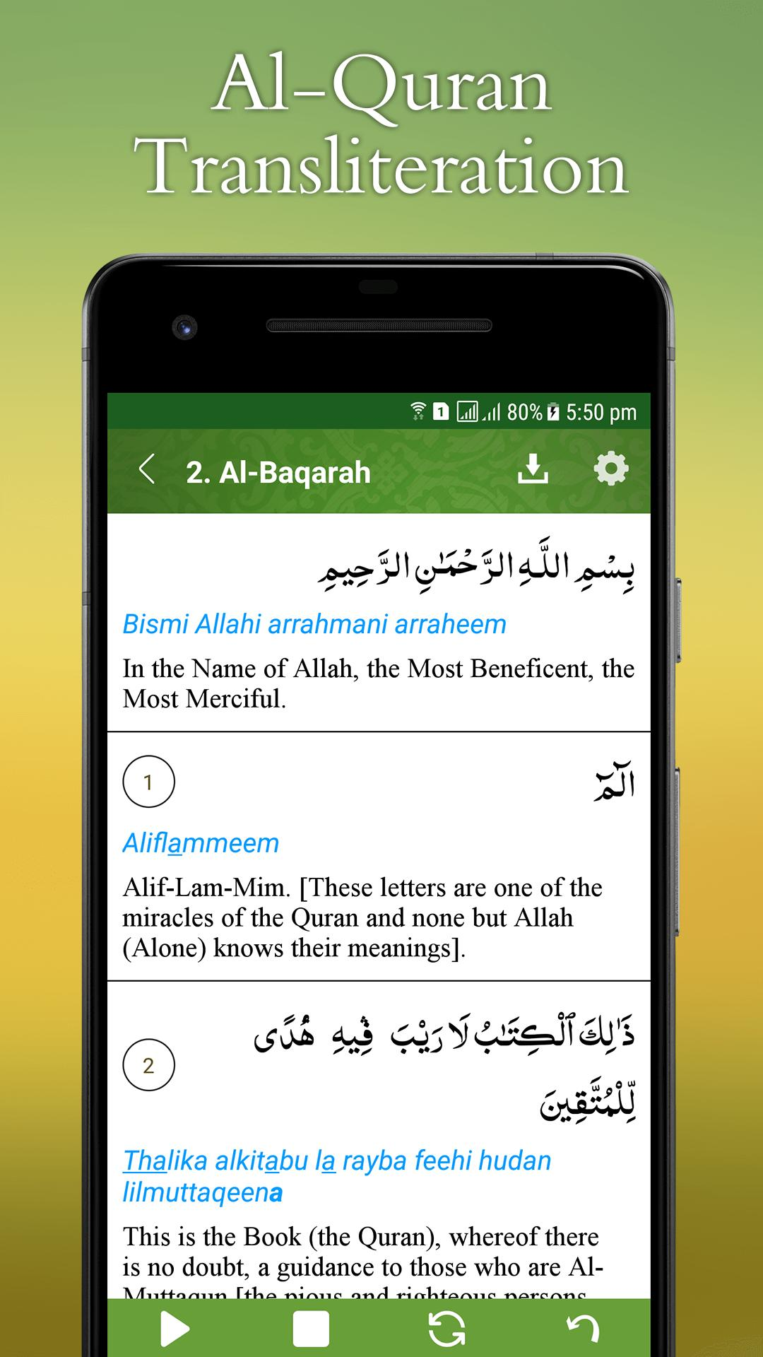 Al Quran Transliteration for Android - APK Download