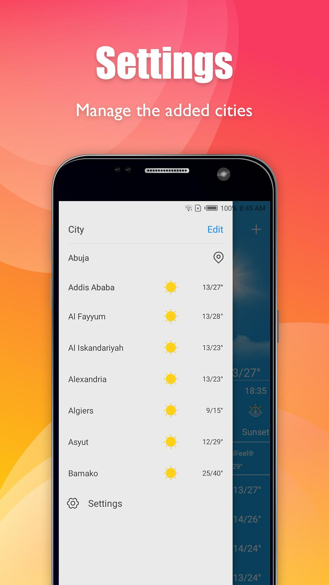 Daily Weather for Android - APK Download