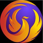 Phoenix Browser - 影片下載, 保護隱私, 快速上網 图标