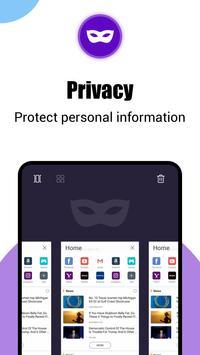 Phoenix Browser - 影片下載, 保護隱私, 快速上網 截图 5