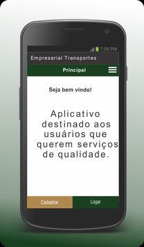 Empresarial Transportes - Cliente poster