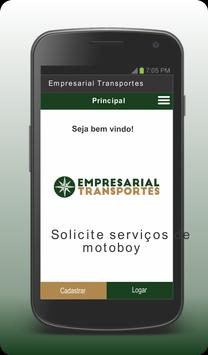 Empresarial Transportes - Cliente screenshot 1