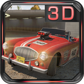 Ultimate 3D Classic Car Rally icon