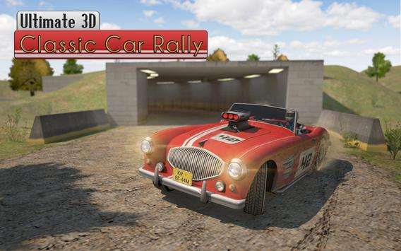 Ultimate 3D Classic Car Rally poster
