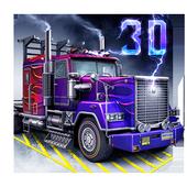 Skill3D Parking Thunder Trucks icon