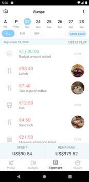 Trabee Pocket : Travel Expense Screenshot 1
