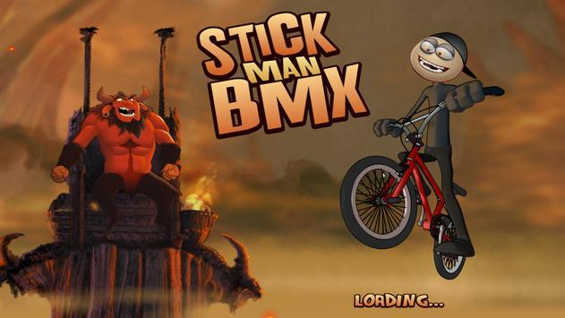 Stickman BMX poster