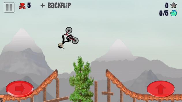 Stickman BMX screenshot 1