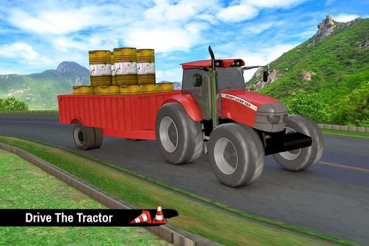 Tractor Trolley Parking Drive - Drive Parking Game screenshot 1